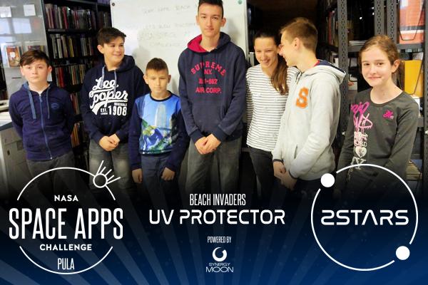 Tim Beach Invaders čine osnovnoškolci čiji je projekt UV Protector temeljen na micro:bit platformi.