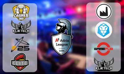 Poznati su CS:GO i LoL timovi LAN finala A1 Adria League