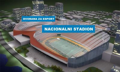 Kraj nacionalnog nogometnog stadiona gradit će se… Posebna esport dvorana!