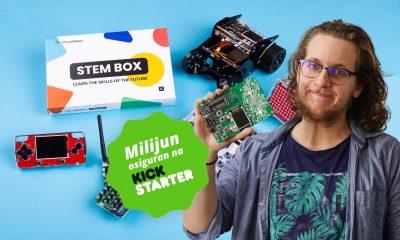 Albert Gajšak sa STEM Boxom osigurao milijun kuna u prva 2 tjedna kampanje