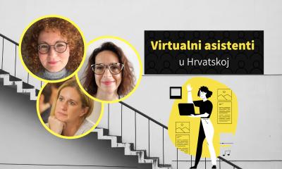 Virtualni asistenti: U Hrvatskoj ih ima 50-100, ali čak 40% ispitanika čulo je za njihove usluge tek ove godine