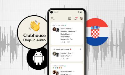 Clubhouse je od danas dostupan na Androidu – u Hrvatskoj!