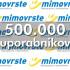 Največja slovenska spletna trgovina mimovrste=) ima že registriranih preko pol milijona uporabnikov. Ste med njimi tudi vi?